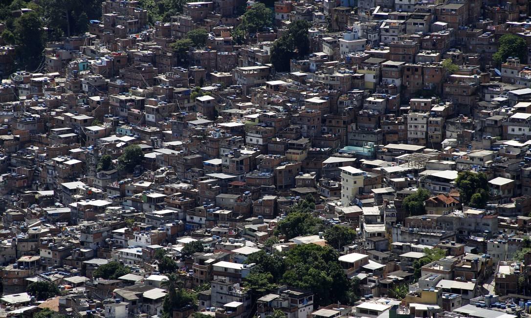 Favela da Rocinha, no Rio Foto: Felipe Hanower / O Globo