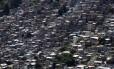 Favela da Rocinha, no Rio