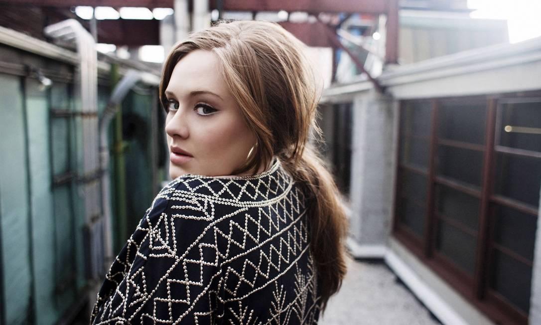 A cantora britânica Adele, campeã de vendas em 2011 Foto: Divulgação
