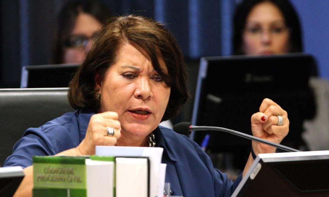 Ministra corregedora-geral do CNJ, Eliana Calmon Foto: Givaldo Barbosa / O Globo