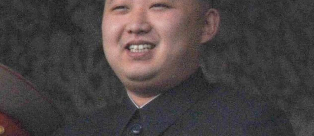 Kim Jong-un em marcha em outubro de 2010, em Pyongyang Foto: REUTERS