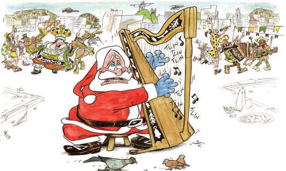 Papai Noel Foto: Cruz