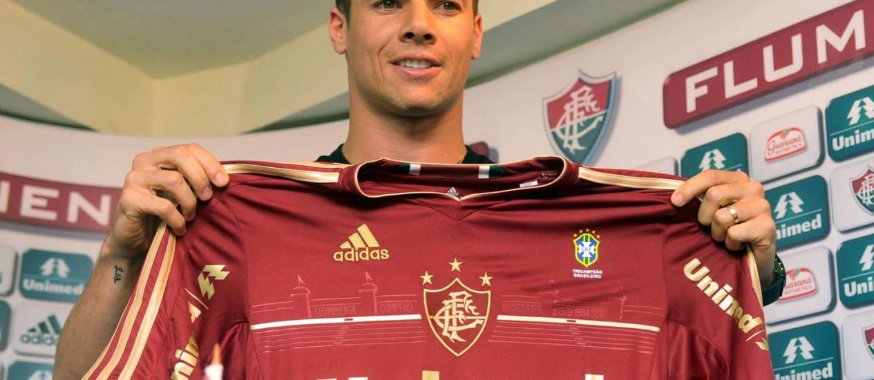 Wagner, do Fluminense, é, por enquanto, a principal contratação do futebol carioca Foto: Photocamera / Divulgação