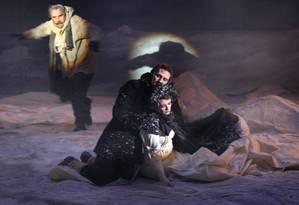 Imagem da peça 'Os náufragos da louca esperança' Foto: Michèle Laurent