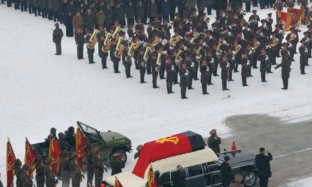 As despedidas do líder comunista terminarão oficialmente na quinta-feira, com uma homenagem em todo o país, incluindo três minutos de silêncio ao meio dia Foto: Reuters
