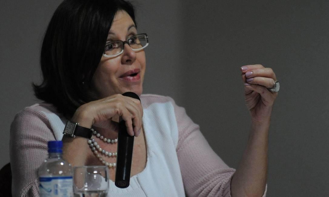 Maria do Pilar Lacerda, secretária de Educação Básica do MEC, defende a unificação dos currículos Foto: Agência Brasil