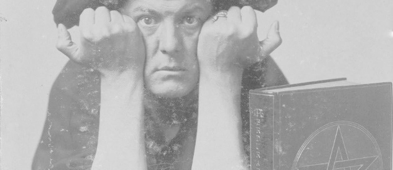 Filósofo e ocultista Aleister Crowley Foto: Divulgação