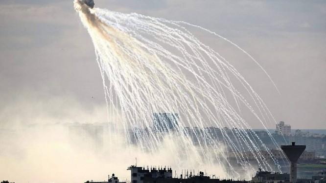 Ataque israelense sobre a cidade de GazaFoto:Reuters