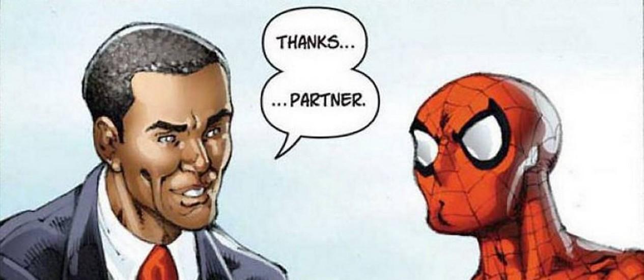Resultado de imagem para Obama -dark reign marvel