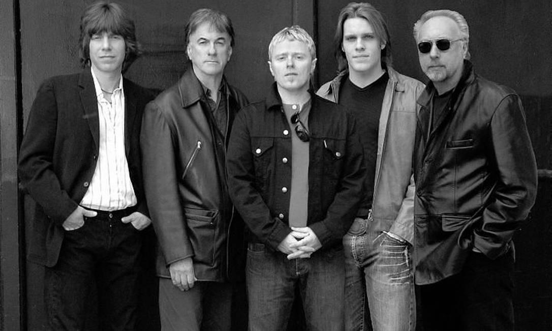 A nova formação dos Yardbirds Divulgação