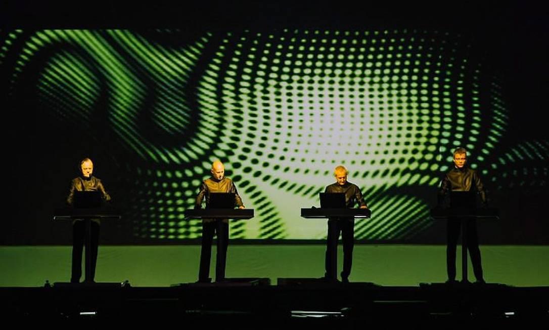 Kraftwerk se apresentando no Sónar de 2012 Foto: / Agência O Globo/ Leonardo Aversa