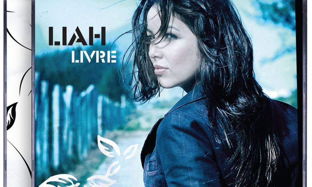 Capa do CD 'Livre', da cantora Liah Reprodução