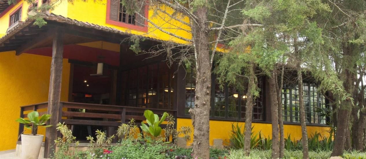 O RESTAURANTE Dois Vales, no Vale do Cuiabá, foi construído em quatro meses e é conduzido pela equipe da Tambo los Inca Foto: Divulgação/Dois Vales