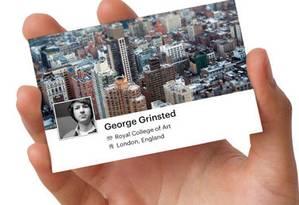 Facebook Card com visual Timeline, da Moo Foto: Reprodução