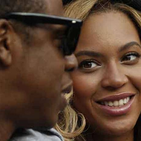 Beyoncé e Jay-Z, os pais de Ivy Blue Carter Foto: AP Photo