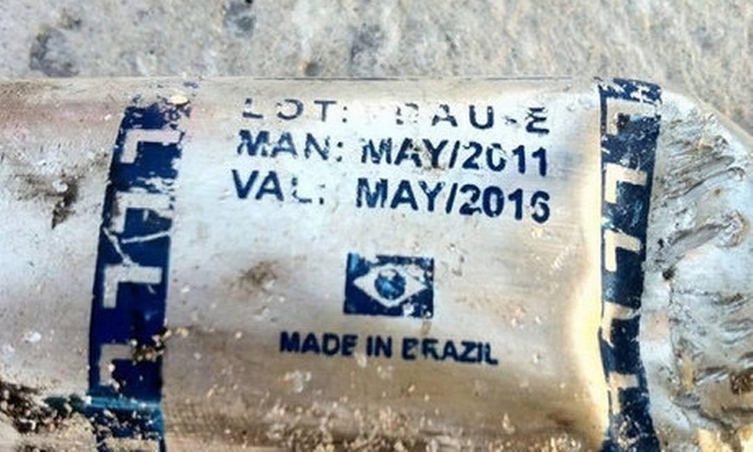 Em foto, é possível ver que a bandeira brasileira Foto: Reprodução