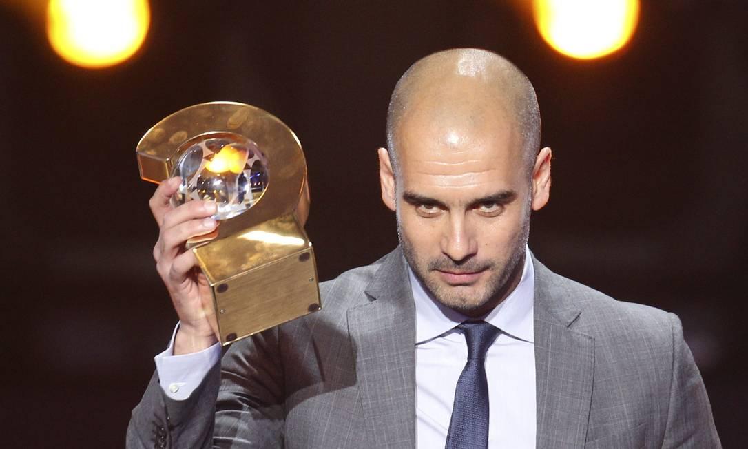 Pep Guardiola, do Barcelona: o melhor técnico de 2011
