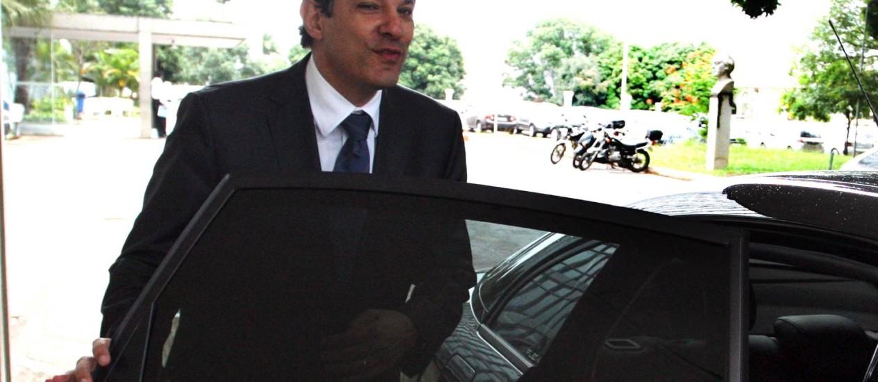Ministro da Educação, Fernando Haddad, será candidato do PT à prefeitura de São Paulo Foto: Givaldo Barbosa / O Globo