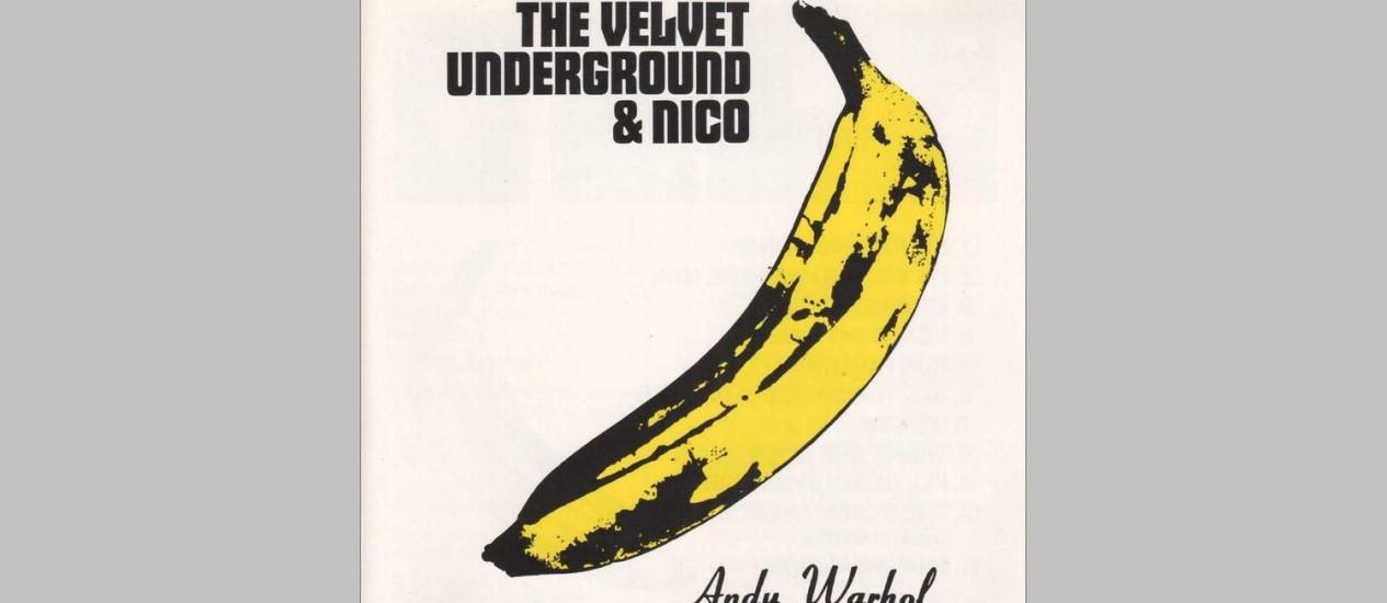 Capa do disco 'Velvet Underground & Nico' Foto: Reprodução