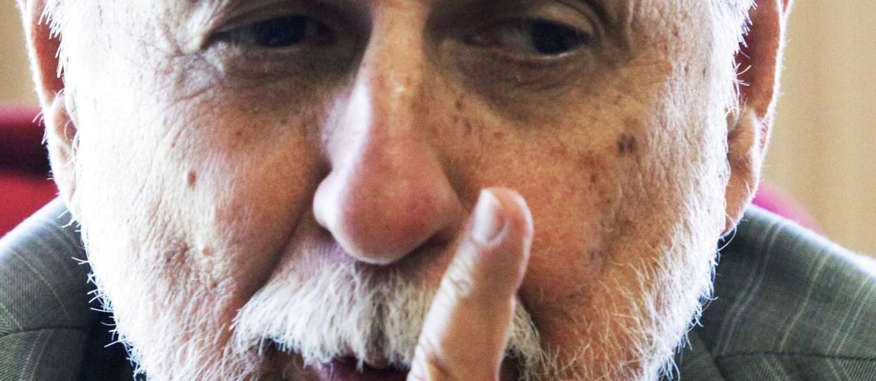 Ministro da Defesa, Celso Amorim Foto: Sérgio Marques / O Globo