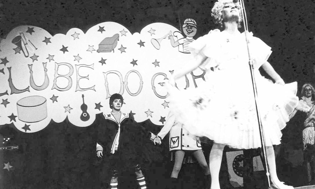 Show 'Falso brilhante', em 1976 Foto: Divulgação / Agência O Globo