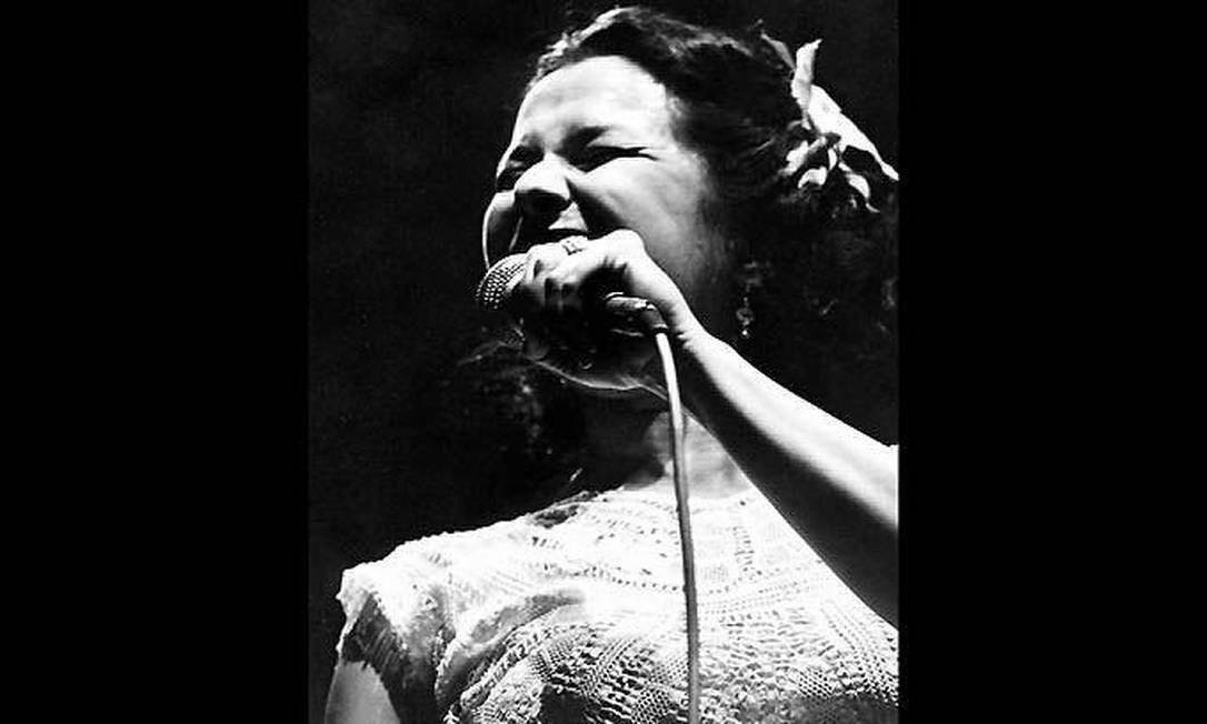 No show 'Essa Mulher', em Araraquara, em 1979 Foto: Divulgação