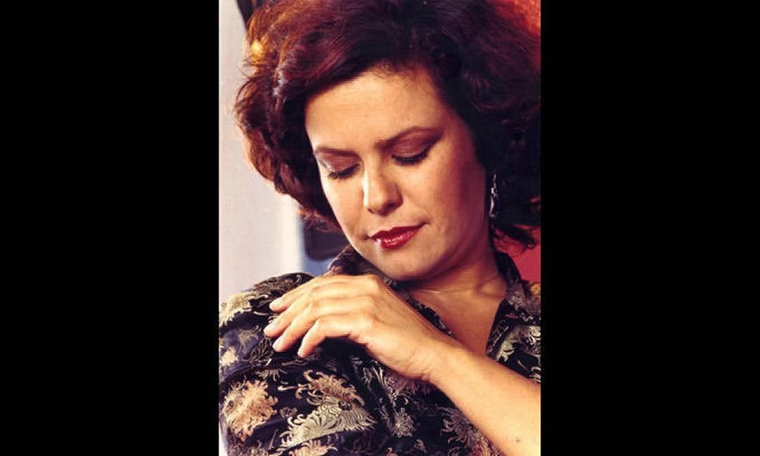 Retrato feito por Paulo Vasconcellos, fotógrafo que acompanhou a cantora nos seus seis últimos anos de vida Divulgação