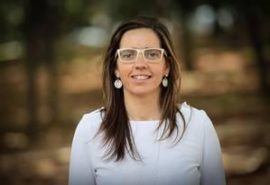 A espanhola Maria Sanches trabalha em SP e vai renovar a autorização para ficar no Brasil pela quarta vez Foto: Marcos Alves / O Globo