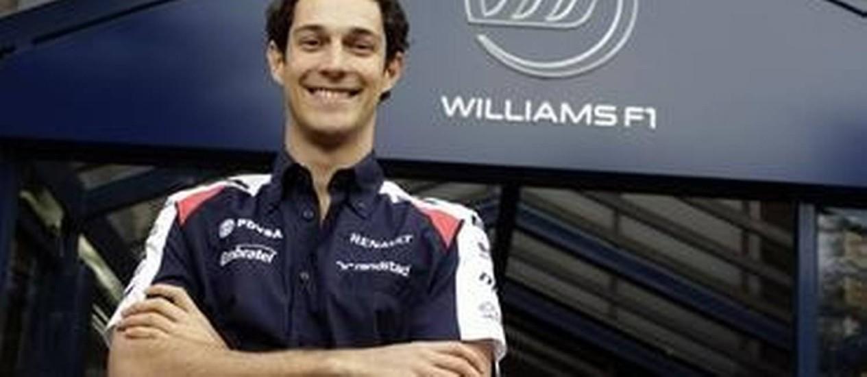 Bruno Senna acertou com a Williams Foto: Divulgação