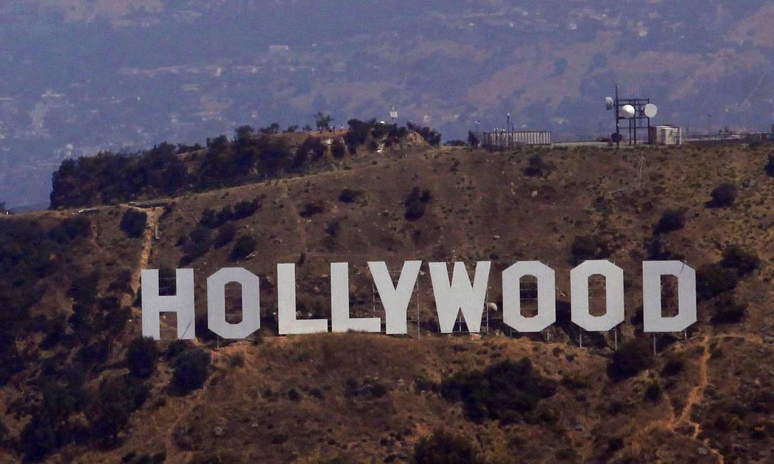 Cabeça humana foi encontrada perto do letreiro-símbolo de Hollywood Foto: / REuters