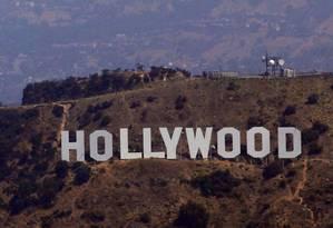 Cabeça humana foi encontrada perto do letreiro-símbolo de Hollywood Foto: REUTERS