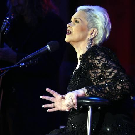A cantora Etta James, em Los Angeles, em 2004 Foto: AP