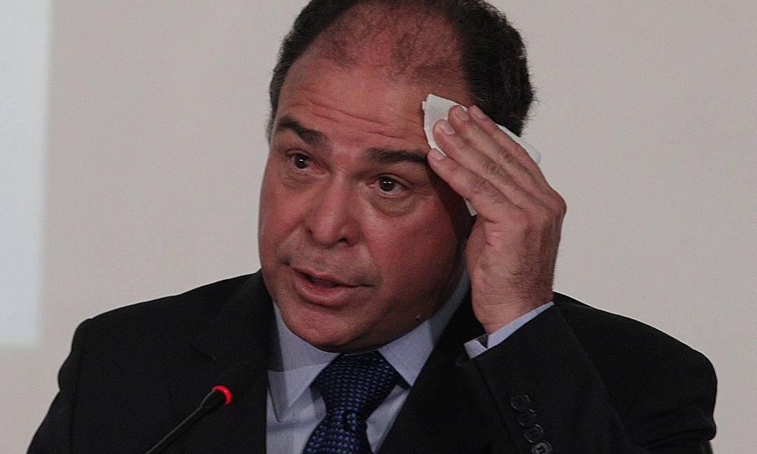 O líder do governo, Fernando Bezerra, ex- ministro de Integração no governo Dilma Rousseff Foto: André Coelho