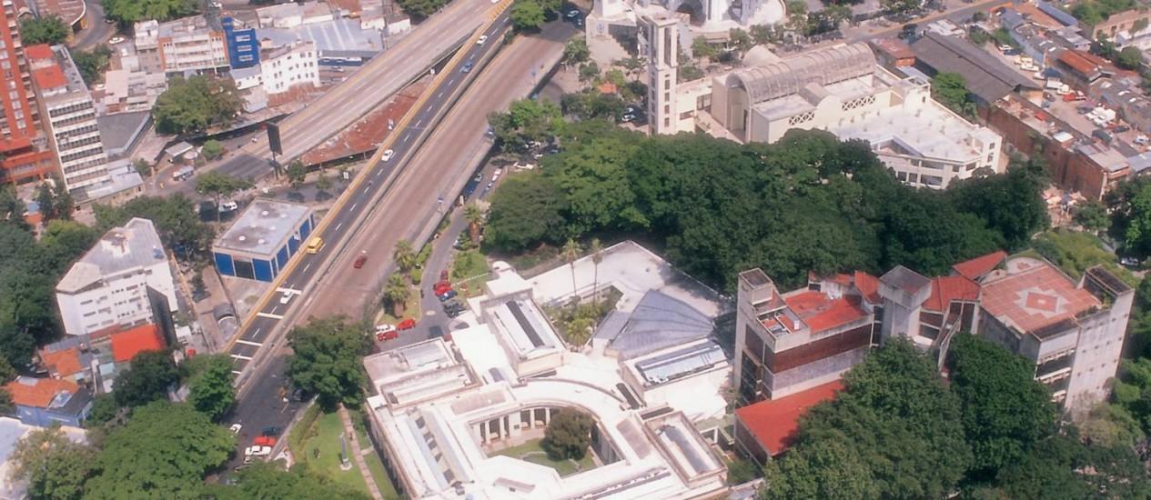 Vista aérea da capital da Venezuela, Caracas Foto: El Nacional