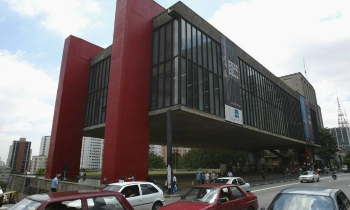 O MASP, projeto da ítalo-brasileira Lina Bo Bardi: influência estrangeira e marco da cidade de São Paulo. Foto: Michel Filho / O GLOBO