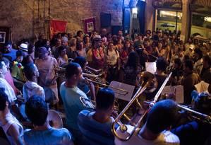 Boitatá promovia ensaios abertos na antiga sede da Rua do Mercado Foto: Divulgação