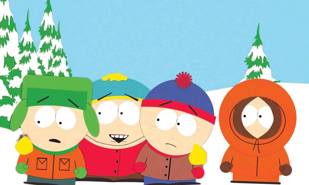 """Cena do desenho """"South Park"""" Foto: Divulgação"""