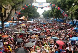 Bola Preta reuniu dois milhões de pessoas em 2011 Foto: Gustavo Stephan