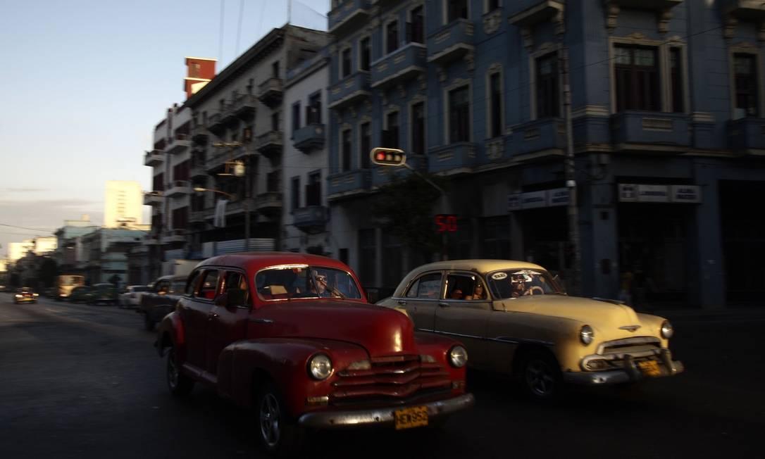 O carros da década de 50, uma das marcas da ilha caribenha Reuters