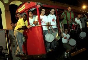 Bloco Samba e Paixão toca hits bregas Foto: O Globo / Luiz Ackermann