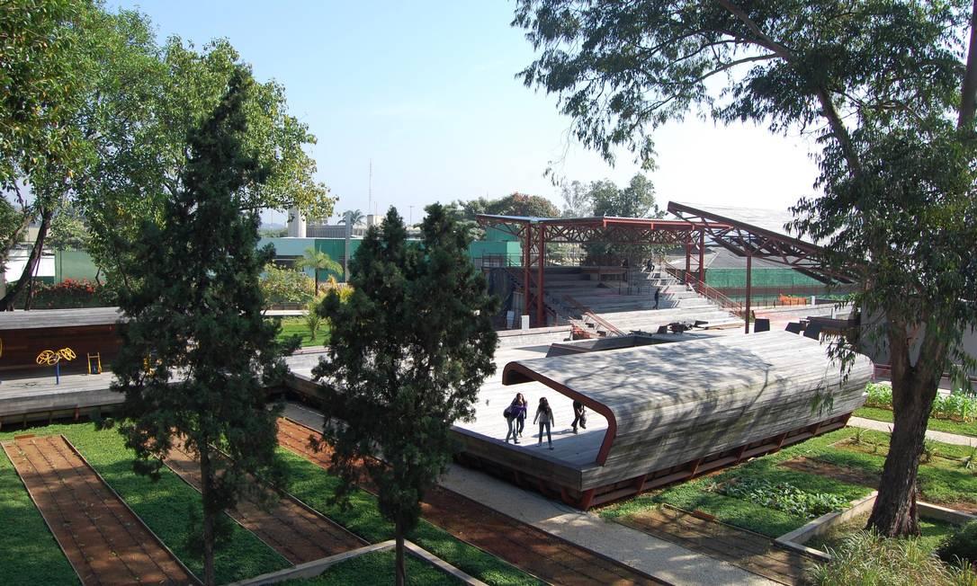 Praça victor civita concorre na categoria projetos de arquitetura no premio greenbest. FOTO / divulgação Foto: Divulgação