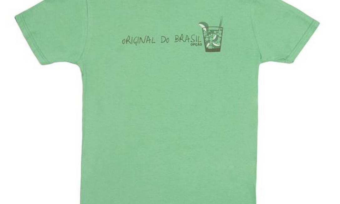 """Detalhe da T-Shirt """"Capirinha"""", da Opção / R$ 24,90 - www.opcaojeans.com.br Divulgação"""