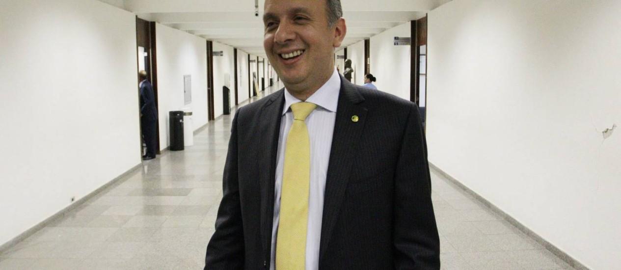 Ministro pediu verba para cidade administrada pela mãe e destinou emenda para município onde irmã é pré-candidata Foto: André Coelho / Agência O Globo