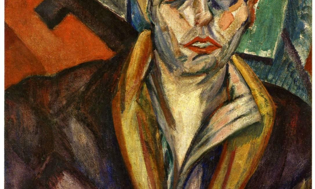 Oswald de Andrade retratado por Anita Malfatti, uma das participantes da Semana de Arte Moderna de 1922 Foto: Reprodução
