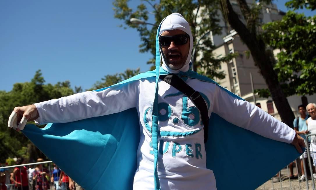 Até um absorvente interno participa da festa! Felipe Hanower / O Globo