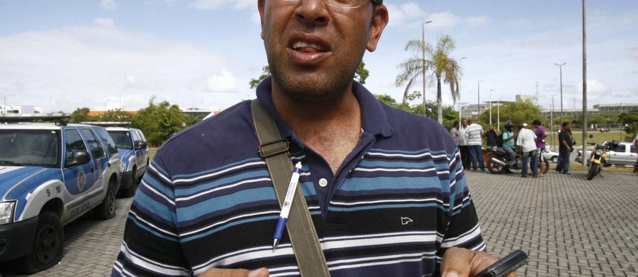 Marco Prisco, líder grevista com mandado de prisão expedido pela Justiça Foto: A Tarde
