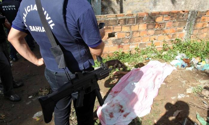 Na madrugada de sábado para domingo foram registrados seis mortes na capital baiana Agência A Tarde