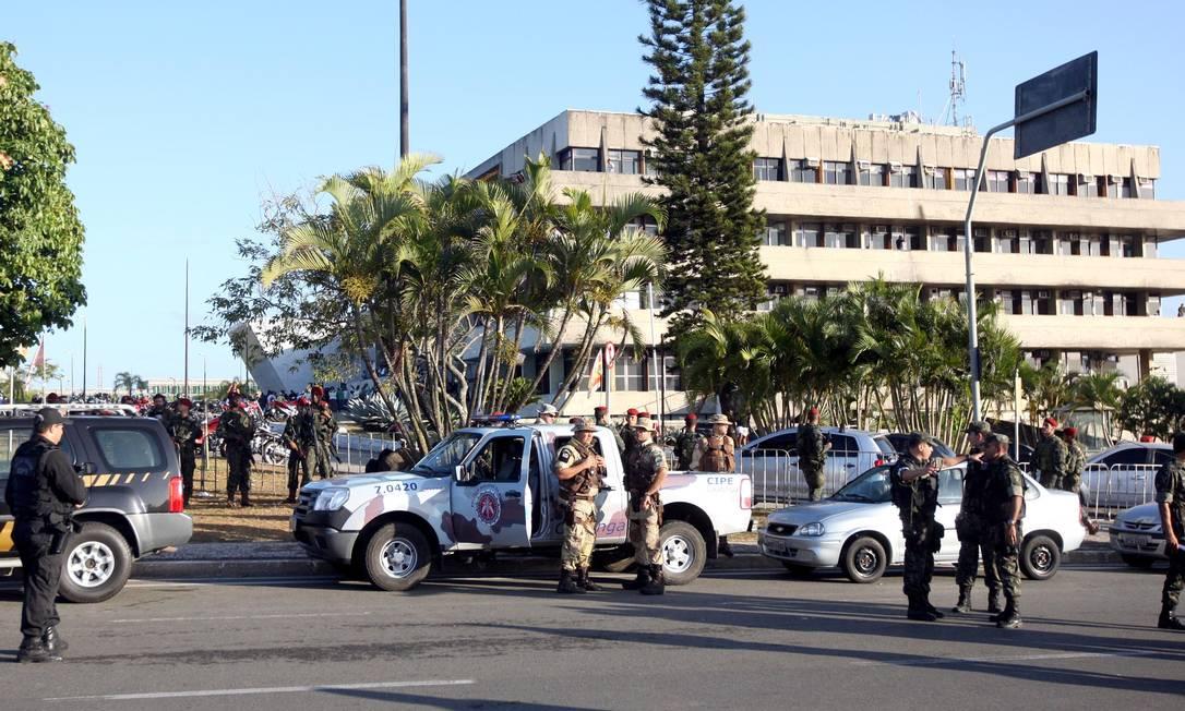 Um dos objetivos da ação é cumprir 11 mandados de prisão expedidos pela Justiça Divulgação / Governo da Bahia