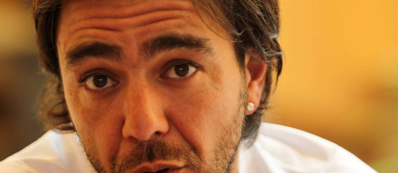Recoba: 'Jogo porque ainda me divirto' Foto: Jorge William / O Globo