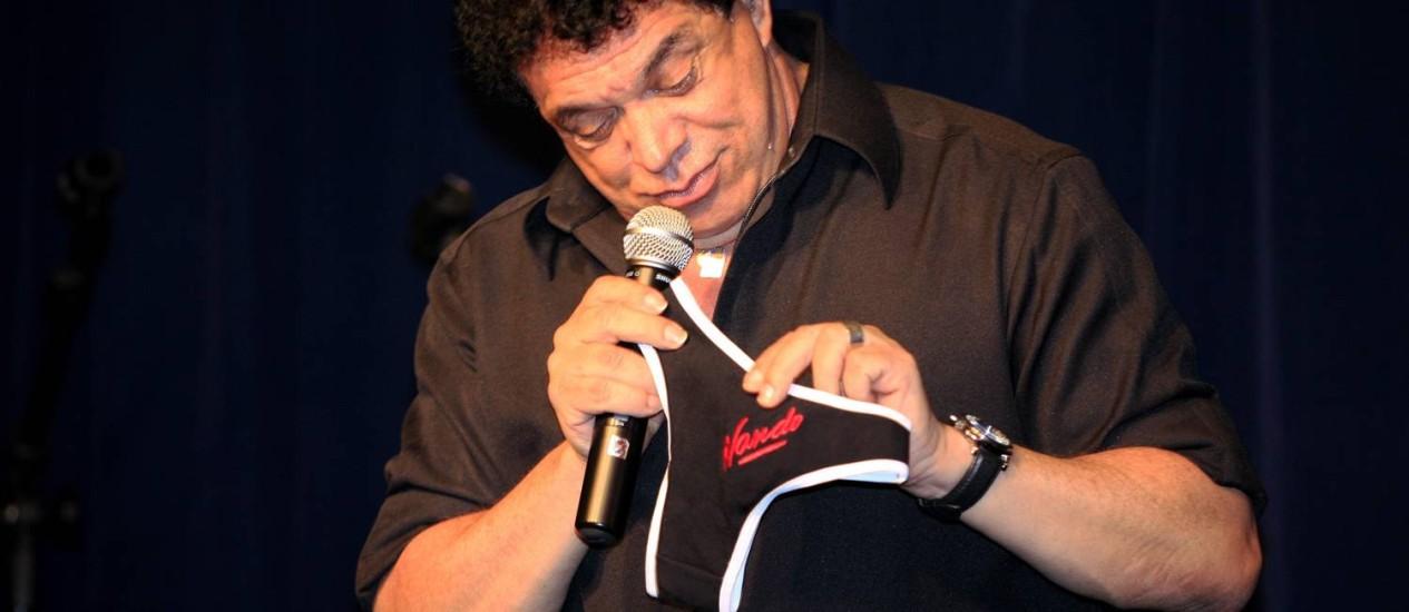 Wando, de 66 anos, morreu na manhã desta quarta-feira Foto: Marcelo Franco / O Globo